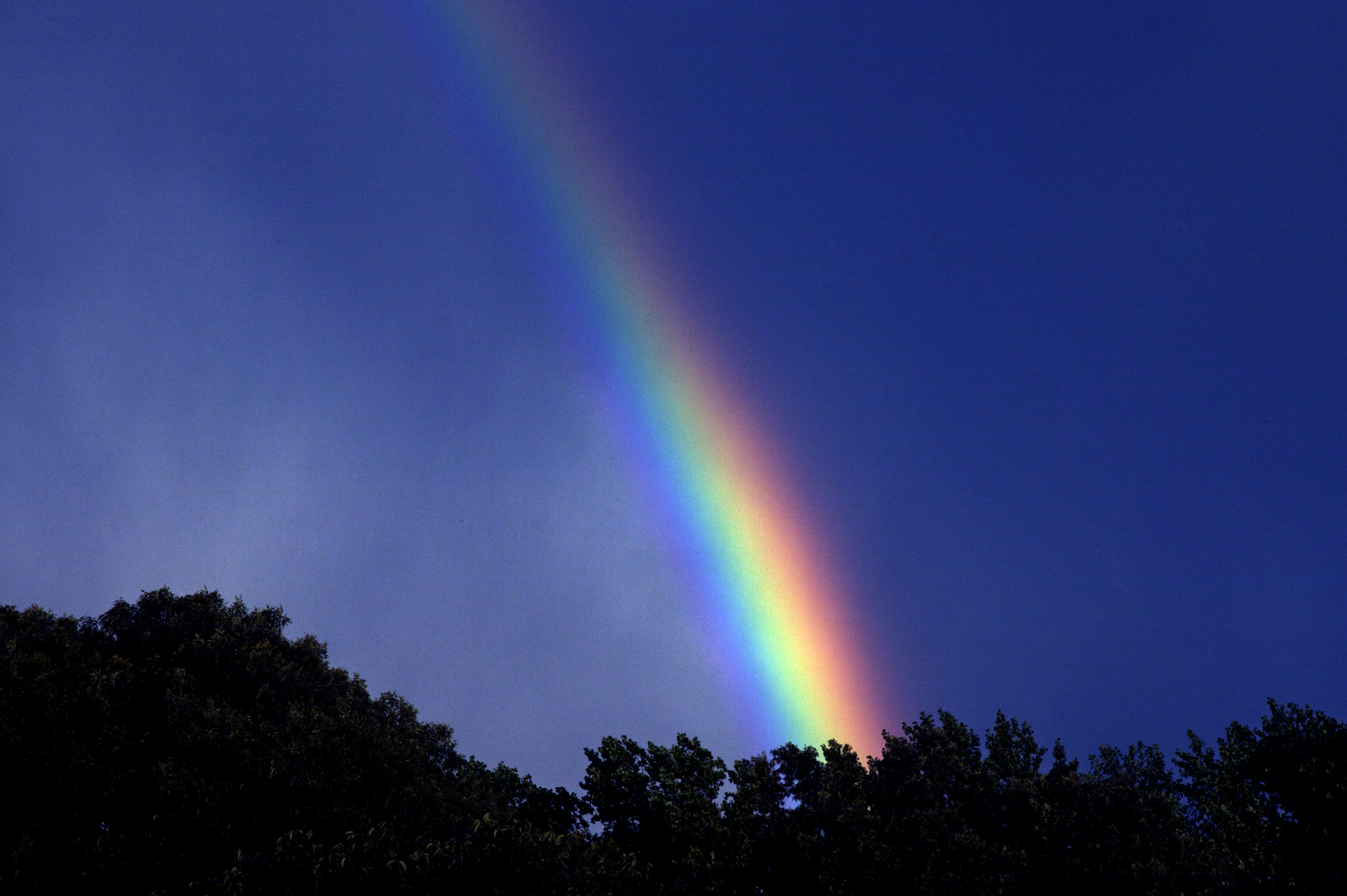 Primordial Light: Under the Rainbow